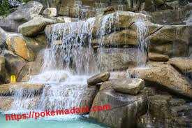 پوکه معدنی در آب نماها
