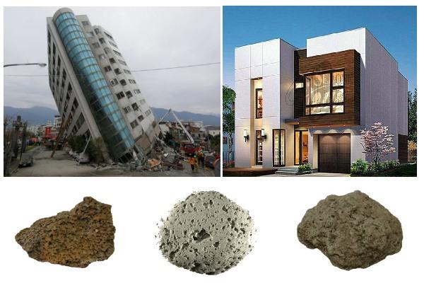 پوکه معدنی در مناطق زلزله خیز