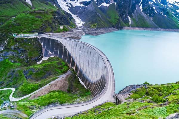 پوکه معدنی در ساخت سد