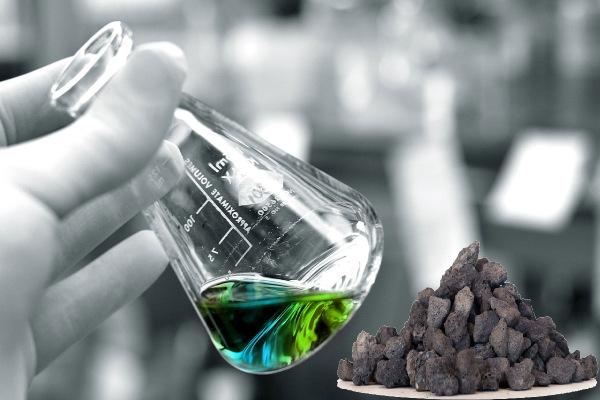 آنالیز شیمیایی پوکه معدنی