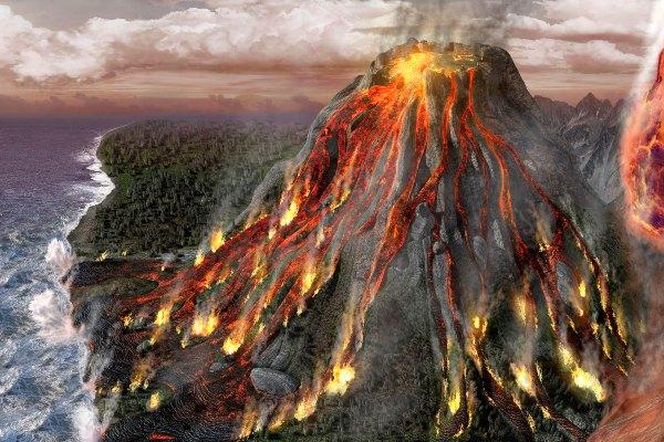 سنگ های آتشفشانی چگونگه تشکیل می شوند؟