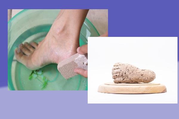 نکاتی درباره نحوه استفاده از سنگ پا